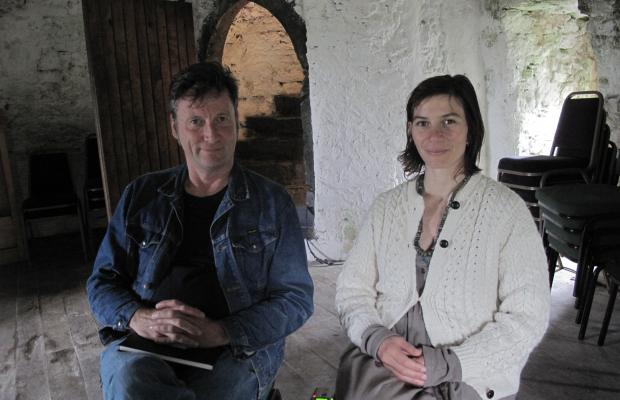 Hugh Pocock and Emily Bosanquet